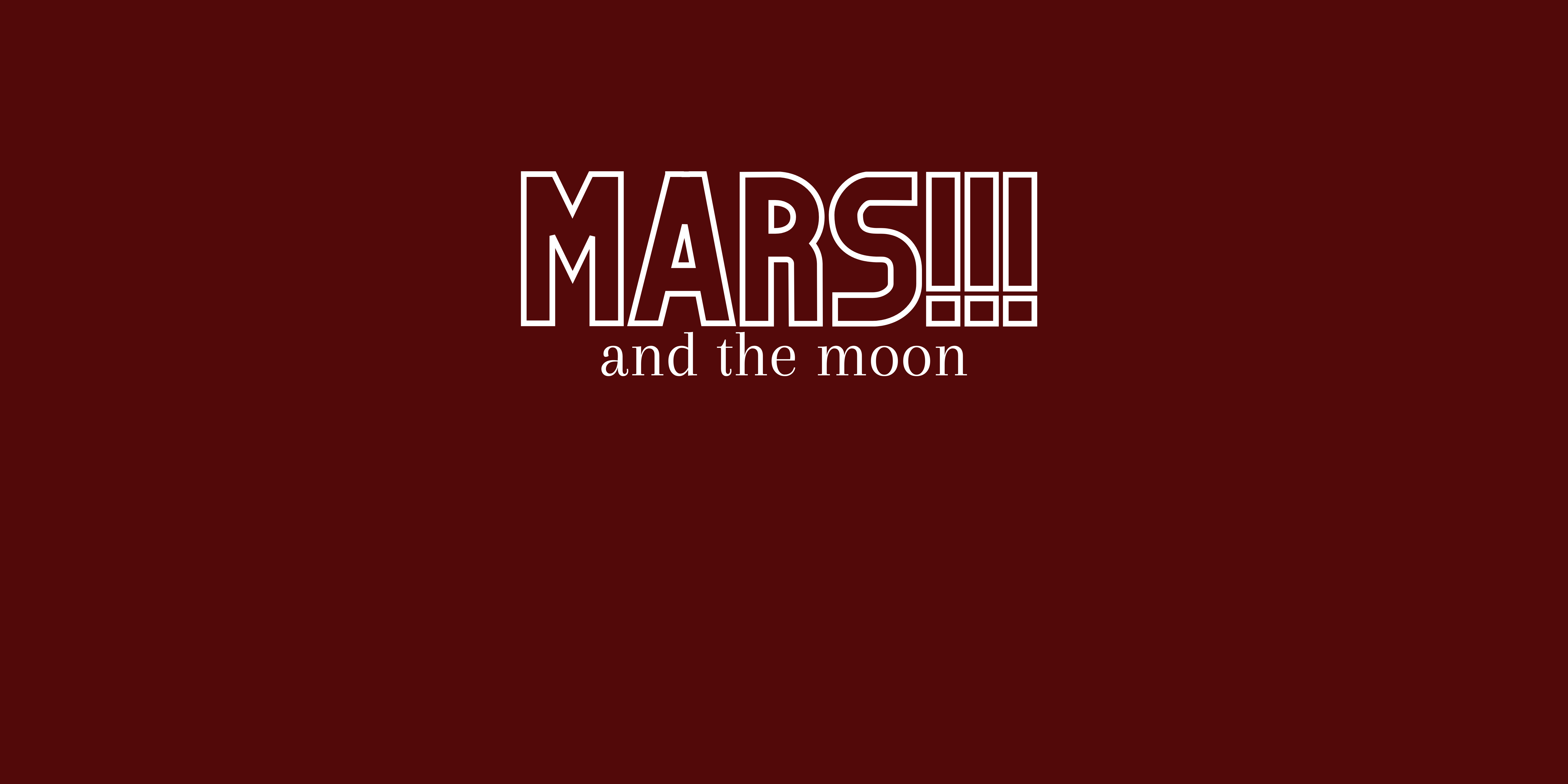 A simple MARS and the MOON font. This is the header for how Mars affects the moon placement in magic and astrology.